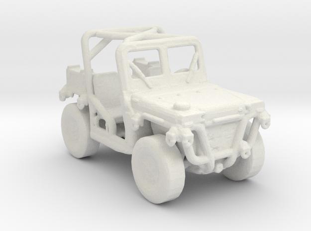 M1163 prime mover 1:220 scale in White Natural Versatile Plastic