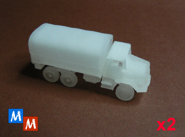 Renault GBC 180 Bachés - Pack x2 - 1:160 in Smooth Fine Detail Plastic