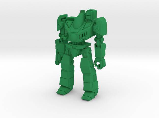 Cadmus Type Combat Walker - 6mm in Green Strong & Flexible Polished