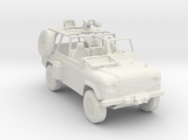 U.S. Army Ranger RSOV v1 1:220 scale in White Natural Versatile Plastic