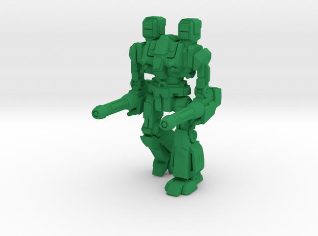 Maul Type Combat Walker - 6mm in Green Processed Versatile Plastic