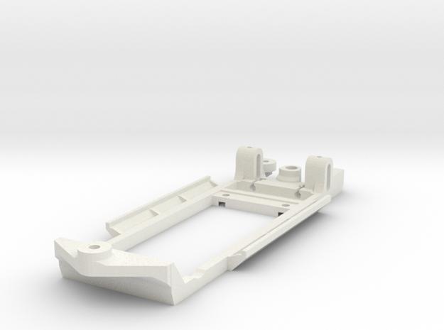 Chassis for SCX Ford Escort Mk2 in White Natural Versatile Plastic