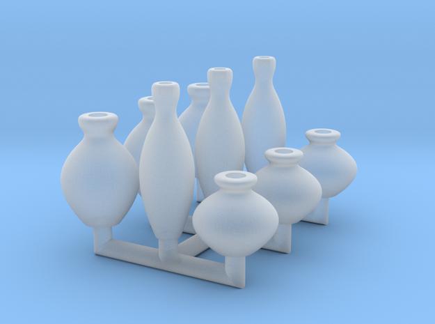 28mm Vases in Smoothest Fine Detail Plastic
