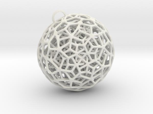 P-Jewel 5 in White Natural Versatile Plastic