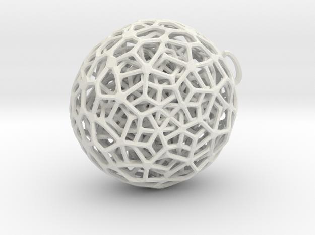 P-jewel5b in White Natural Versatile Plastic