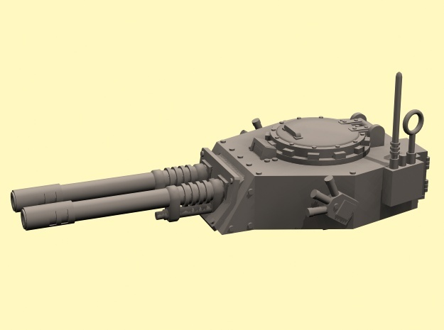 28mm APC turret with 2x auto guns