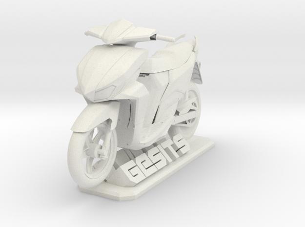 GESITS - 15x9x3,8cm in White Natural Versatile Plastic