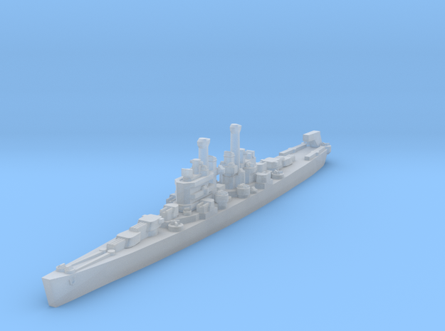 Cleveland class 1/4800 in Smooth Fine Detail Plastic