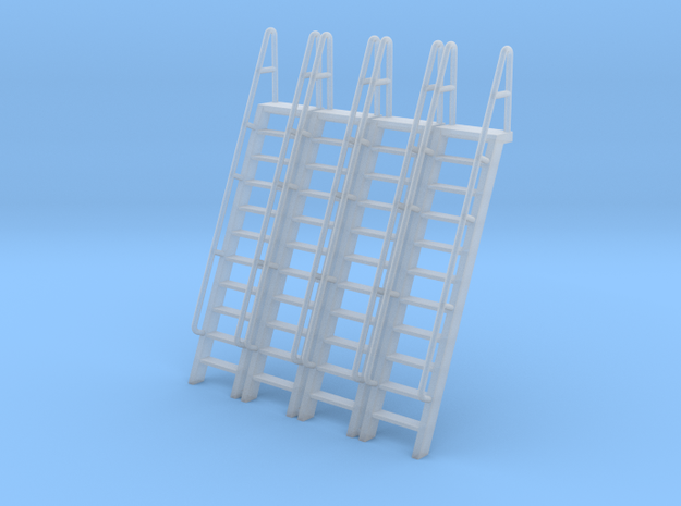 HO Scale Ladder 11 in Smooth Fine Detail Plastic