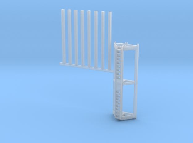 Auflagebock_v2_2550mm für Herpa Goldhofer in Smooth Fine Detail Plastic