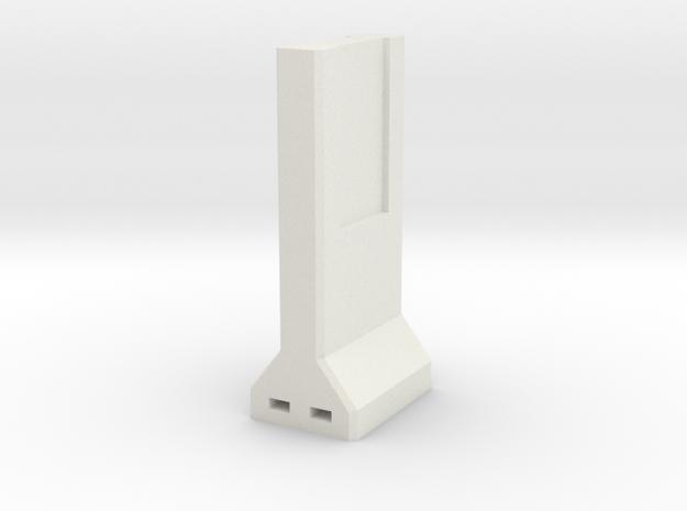 Concrete Retaining Wall (Single)