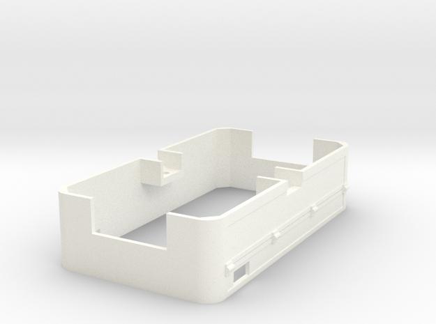 ZE 606 Schort in White Processed Versatile Plastic