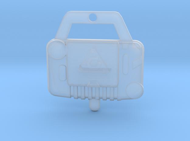 figure turbo nav in Smooth Fine Detail Plastic