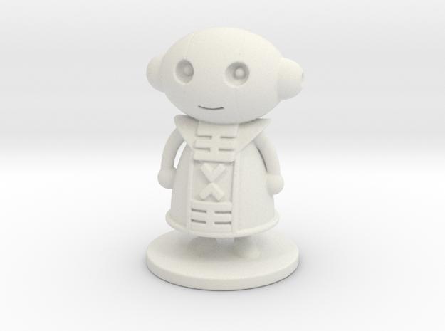 Zeno in White Natural Versatile Plastic