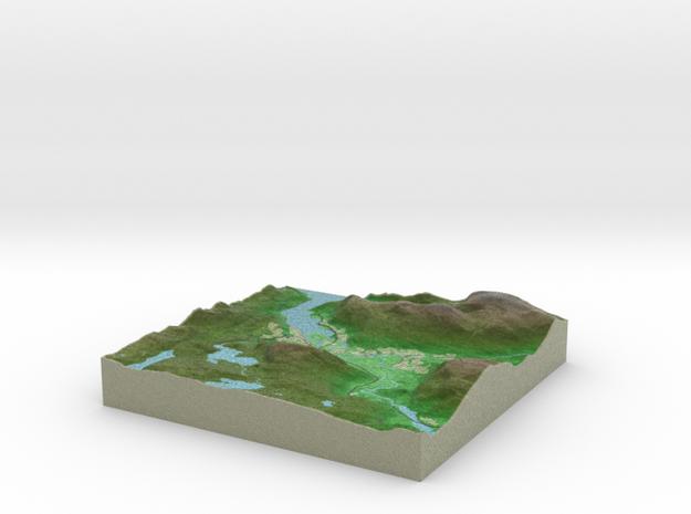 Terrafab generated model Tue Aug 01 2017 20:02:40  in Full Color Sandstone