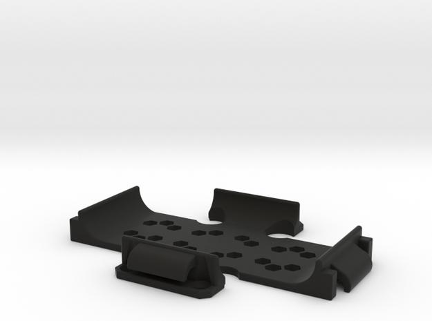 11017R0 Power+Fix Race in Black Natural Versatile Plastic