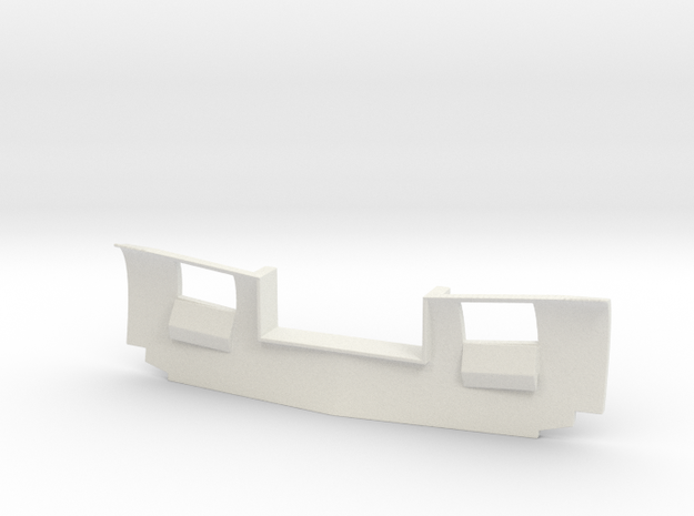SD45 Low Plow (G - 1:29) in White Natural Versatile Plastic
