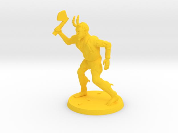 Mutant Spawn in Yellow Processed Versatile Plastic