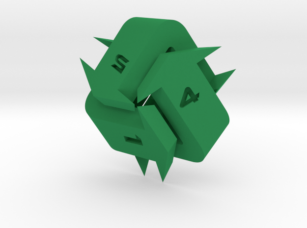 Recycling d6 in Green Processed Versatile Plastic