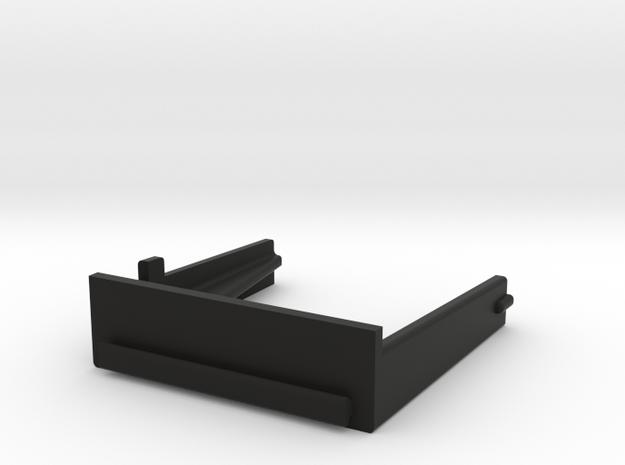HP 41 Module cover (thinner) in Black Natural Versatile Plastic
