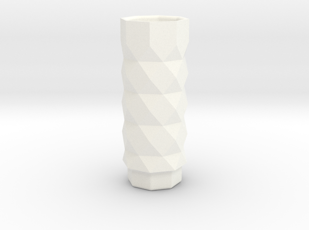 PRINTSTRUMENT05 in White Strong & Flexible Polished