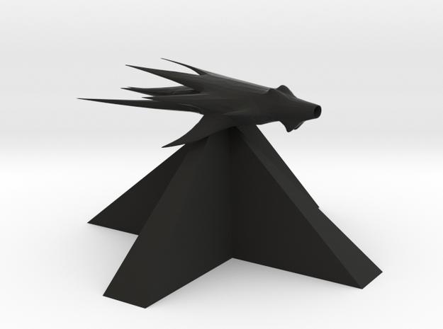 Shadows - Fighter in Black Natural Versatile Plastic