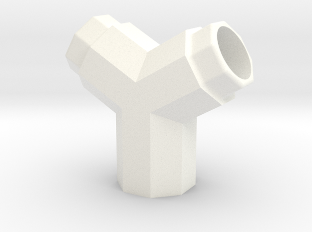 PRINTSTRUMENT18 in White Strong & Flexible Polished