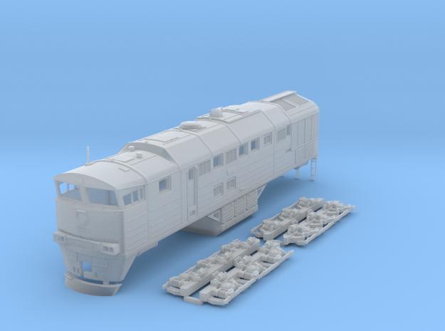 HO Scale 2TE-116 locomotive