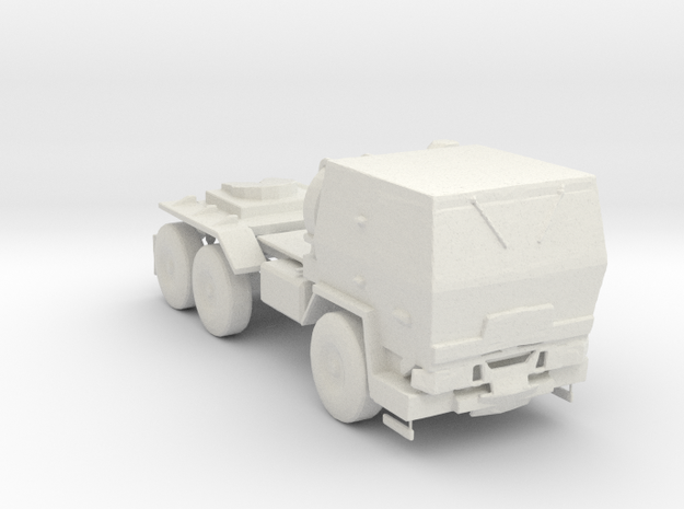 M1088 Up Armored Tractor 1:220 scale in White Strong & Flexible
