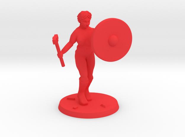 Jasmin NSFW Paladin  in Red Processed Versatile Plastic