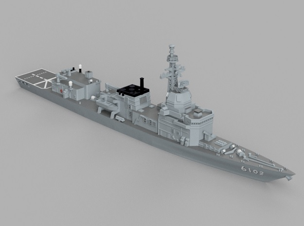 1/1250 Experimental Ship  JS Asuka in Smooth Fine Detail Plastic