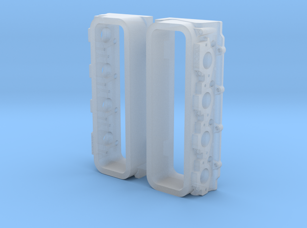 Brodix Cylinder Head Pair in Smoothest Fine Detail Plastic