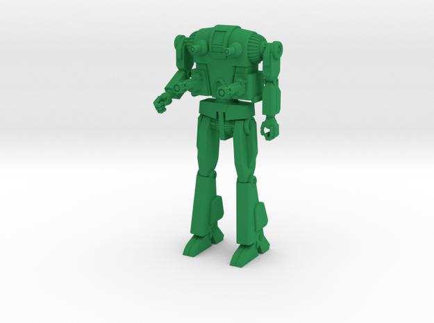 Oscar Combat Walker 6mm in Green Strong & Flexible Polished