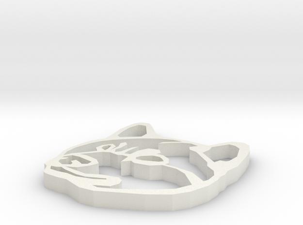 Shiba Inu head in White Strong & Flexible: Small