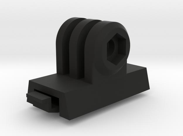 GoPro ACH-ARC Mount Adapter (Forward Tilting) in Black Natural Versatile Plastic