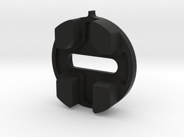 SPD SH51 Cleat Alignment Tool in Black Natural Versatile Plastic