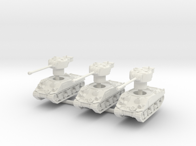 3 Sherman VC fireflys in White Natural Versatile Plastic