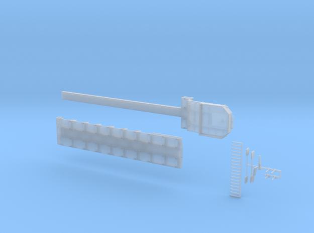 MPA 20 Tieflader ähnlich Goldhofer MPA 7 achs in Smooth Fine Detail Plastic