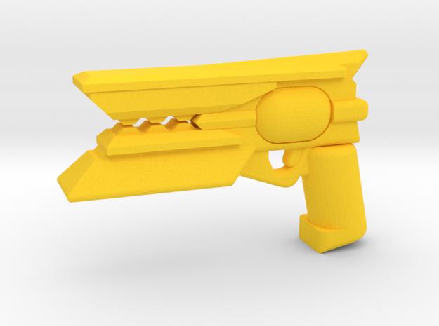 Scorch shot in Yellow Processed Versatile Plastic