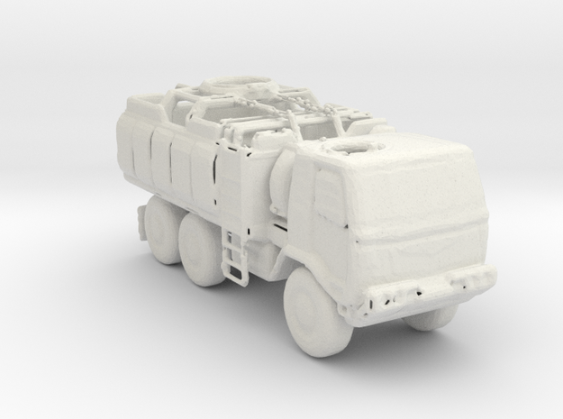M1083 Check Point Truck 1:220 scale in White Natural Versatile Plastic