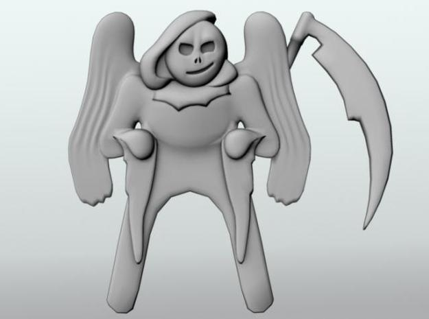 Pocket Reaper 3d printed 3d render.