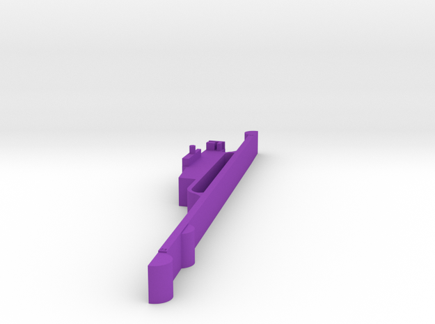 Madeira (LPMA) Airport 1:30000 in Purple Strong & Flexible Polished