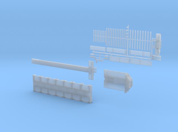 D 03-7 Tieflader ähnlich Doll Panther 7 Achs in Smooth Fine Detail Plastic