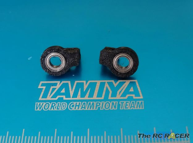 Tamiya TRF419X  Ultra smooth Sway Roll bar mounts in Black Strong & Flexible