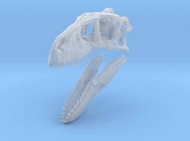 1:35 Utahraptor skull in Frosted Ultra Detail