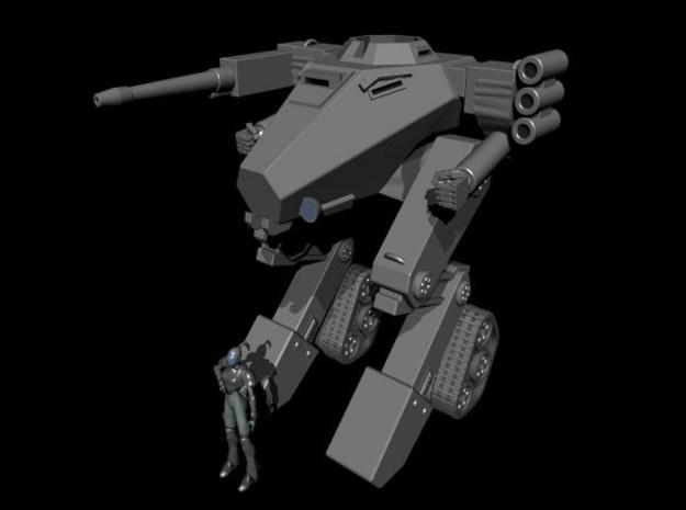 Work Sample for Company B- Valkyrie (Gear Krieg) ( 3d printed Whole Tank