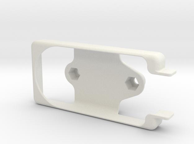 Brixometer 5G Ram Mount in White Natural Versatile Plastic