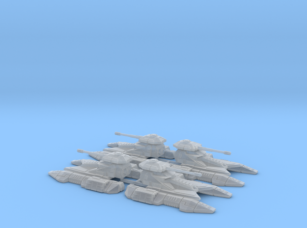 1/270 Imperial Fighter Tank (4)