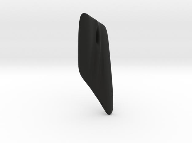 EscherEaring in Black Strong & Flexible