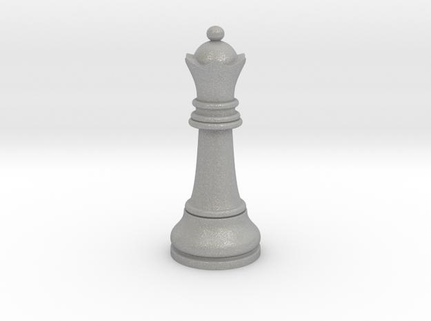 05Queen1 Small Single in Aluminum
